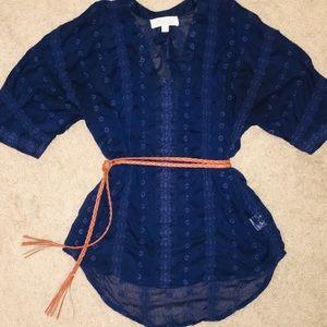 Olive & Oak sheer blouse